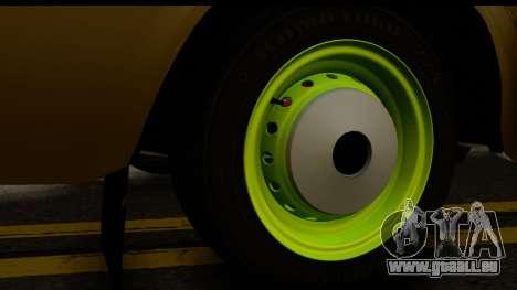 VAZ 2101 Stock v3.2 pour GTA San Andreas vue arrière