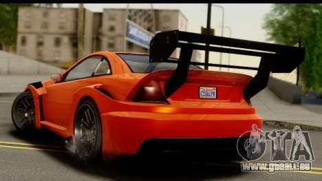 GTA 5 Benefactor Feltzer für GTA San Andreas linke Ansicht