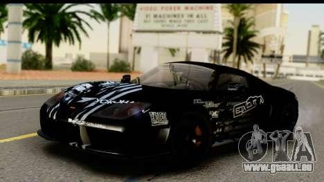 Noble M600 2010 HQLM pour GTA San Andreas moteur
