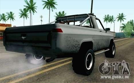 Pickup from Alan Wake pour GTA San Andreas laissé vue