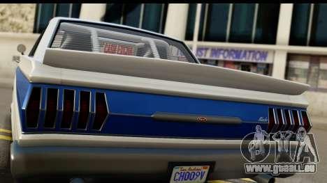 GTA 5 Vapid Blade v2 IVF pour GTA San Andreas vue de droite