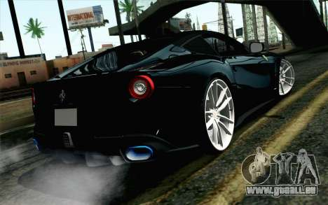 Ferrari F12 Berlinetta pour GTA San Andreas laissé vue