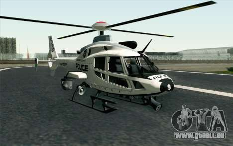 NFS HP 2010 Police Helicopter LVL 1 pour GTA San Andreas