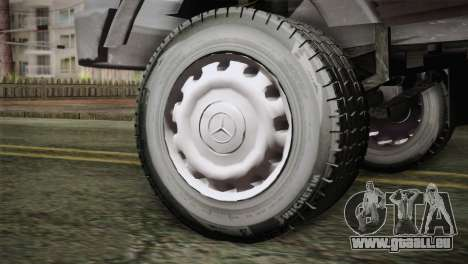 Mercedes-Benz Khavar pour GTA San Andreas sur la vue arrière gauche