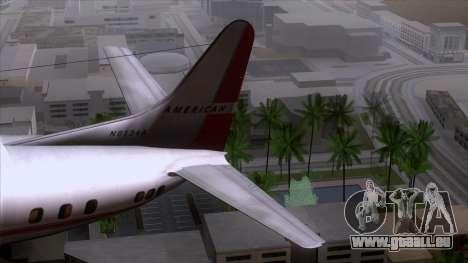L-188 Electra American Als pour GTA San Andreas vue de droite