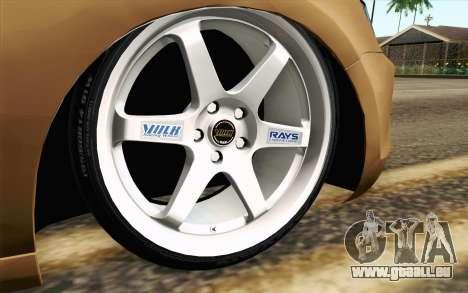 Volkswagen Jetta Air pour GTA San Andreas sur la vue arrière gauche