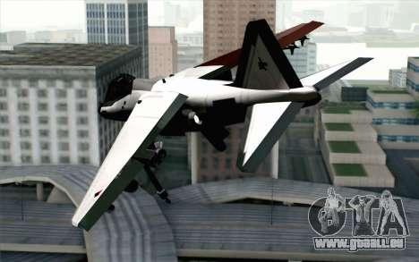 Hydra ADFX-02 Pixy pour GTA San Andreas laissé vue