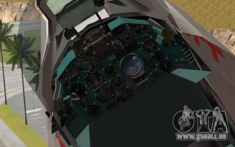 MIG-21MF Vietnam Air Force für GTA San Andreas Rückansicht