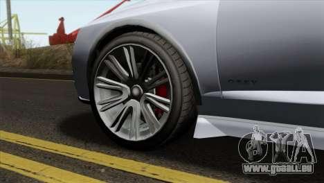 GTA 5 Obey Tailgater IVF pour GTA San Andreas sur la vue arrière gauche