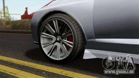 GTA 5 Obey Tailgater IVF für GTA San Andreas zurück linke Ansicht