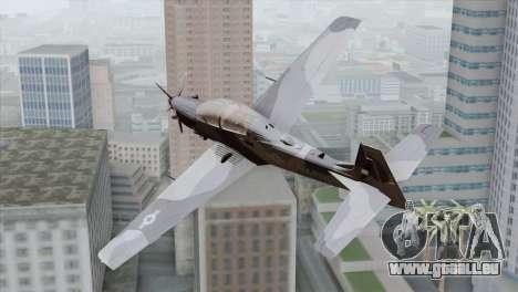 Embraer A-29B Super Tucano Marines pour GTA San Andreas laissé vue