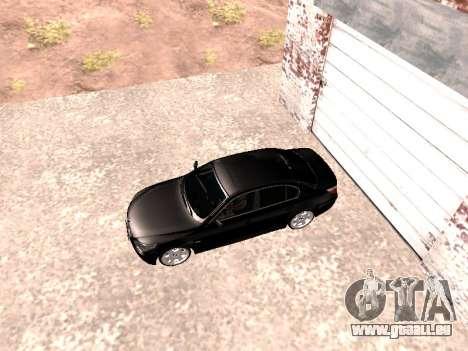 BMW 525i (e60) pour GTA San Andreas sur la vue arrière gauche