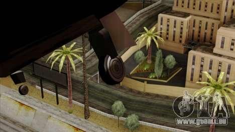 Hydra Eagle für GTA San Andreas Rückansicht