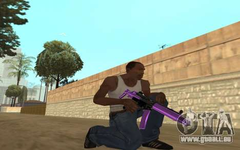 Purple Weapon Pack by Cr1meful pour GTA San Andreas