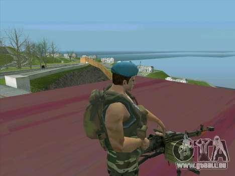 Le canon du char Cordon pour GTA San Andreas troisième écran