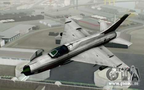 MIG-21MF Vietnam Air Force pour GTA San Andreas