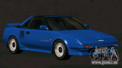 Toyota MR2 1600 G-Limited (AW11) pour GTA San Andreas