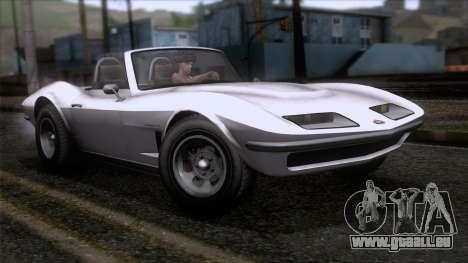 GTA 5 Invetero Coquette Classic TL SA Mobile pour GTA San Andreas