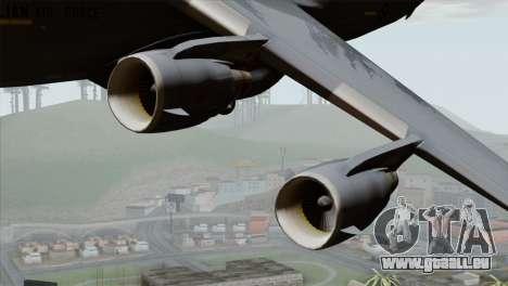 C-17A Globemaster III RAF pour GTA San Andreas vue arrière