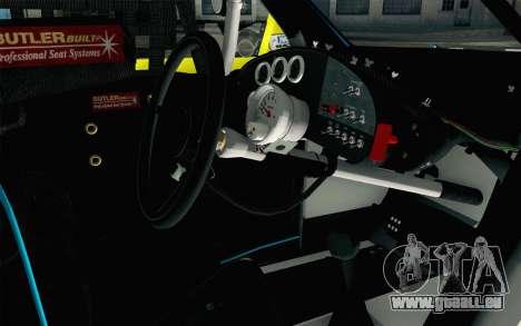 NASCAR Ford Fusion 2012 Short Track für GTA San Andreas rechten Ansicht