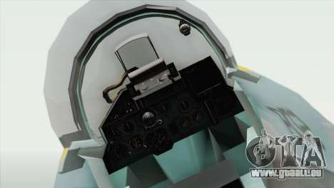 Sukhoi SU-27 PMC Reaper Squadron pour GTA San Andreas vue de droite