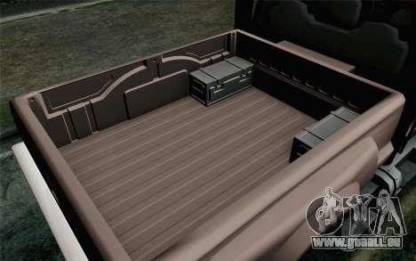 Vapid Guardian GTA 5 pour GTA San Andreas vue de droite