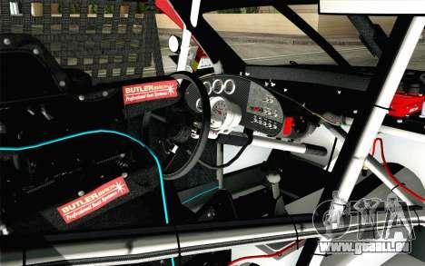NASCAR Toyota Camry 2012 Short Track pour GTA San Andreas vue de droite