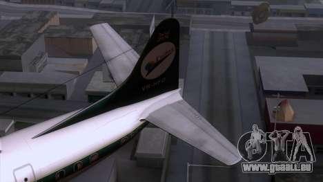 L-188 Electra Cathay P für GTA San Andreas zurück linke Ansicht