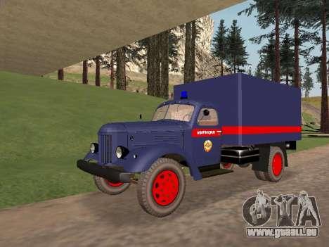 ZIL 157 de la police pour GTA San Andreas
