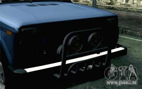 VAZ 2131 Niva 5D pour GTA San Andreas vue arrière