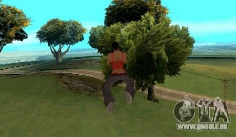 Cleo Fly pour GTA San Andreas troisième écran