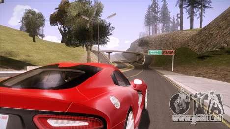 ENB Sunreal pour GTA San Andreas cinquième écran