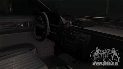 GTA 5 Vapid Stanier Sheriff SA Style pour GTA San Andreas vue de droite