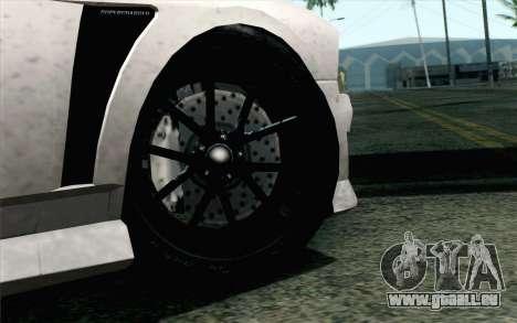 GTA 5 Bravado Buffalo S v2 IVF pour GTA San Andreas sur la vue arrière gauche