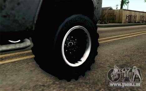 Pickup from Alan Wake für GTA San Andreas zurück linke Ansicht