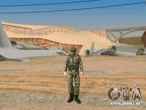 Cine des forces spéciales de l'URSS pour GTA San Andreas sixième écran