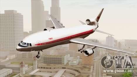 Lookheed L-1011 TWA für GTA San Andreas