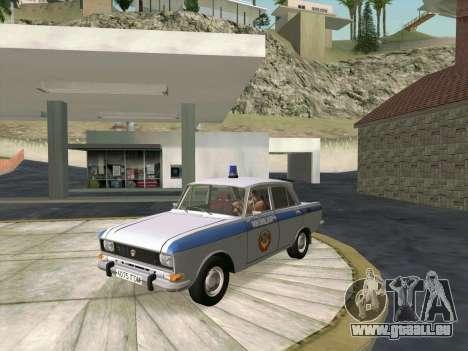 Moskvich 2140 Police pour GTA San Andreas