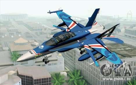 F-18D RAAF 20th Anniversary für GTA San Andreas