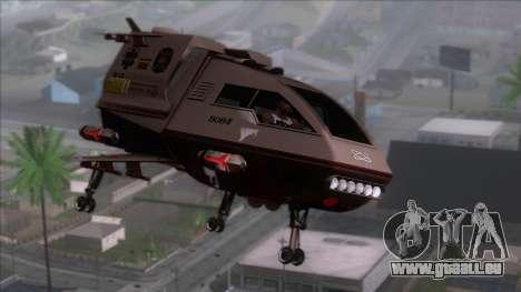 Shuttle v1 (wheels) pour GTA San Andreas