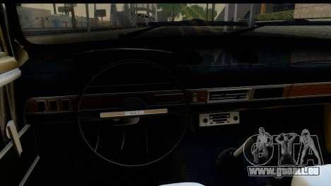 VAZ 2101 Stock v3.2 pour GTA San Andreas vue intérieure