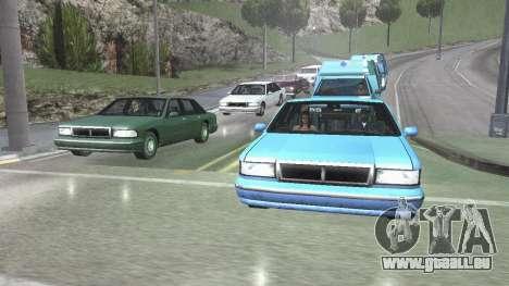 Straße Reflexionen Update 1.0 для GTA San Andrea für GTA San Andreas