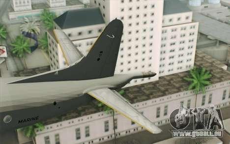 Lockheed P-3 Orion German Navy für GTA San Andreas zurück linke Ansicht