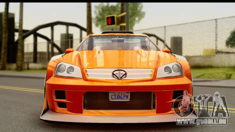 GTA 5 Benefactor Feltzer pour GTA San Andreas sur la vue arrière gauche