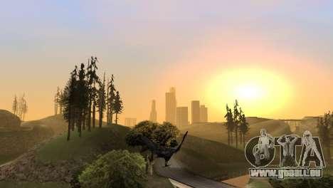 La possibilité de GTA V à jouer pour les oiseaux pour GTA San Andreas septième écran