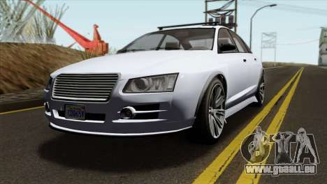 GTA 5 Obey Tailgater IVF für GTA San Andreas