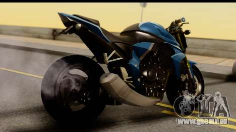 Honda CB1000R v2.0 für GTA San Andreas linke Ansicht