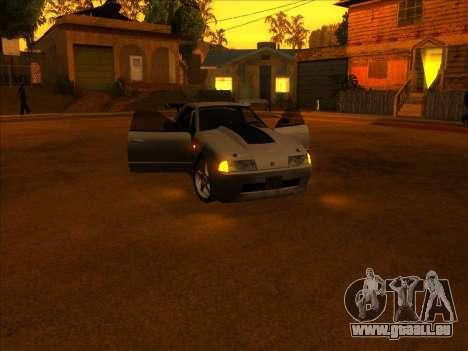 Elegy Skyline für GTA San Andreas Rückansicht