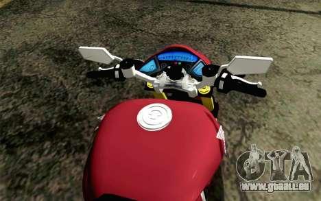 Honda CB1000R pour GTA San Andreas vue de droite
