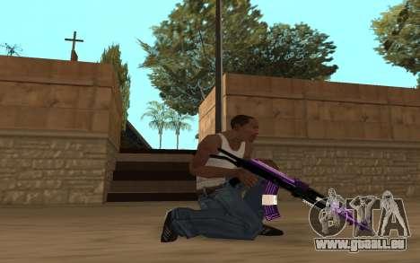 Purple Weapon Pack by Cr1meful pour GTA San Andreas sixième écran
